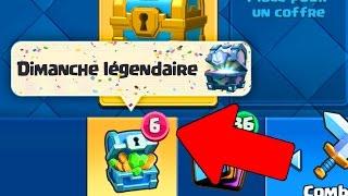 WOW! SHOP DU DIMANCHE LEGENDAIRE sur Clash Royale