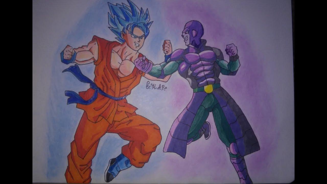 Fotos De Vegeta Color Azul: Dibujando A Goku Ssj Dios Azul Vs Hit / Drawing Goku Vs