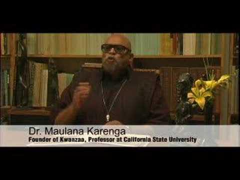 WHY KWANZA By Maulana Karenga