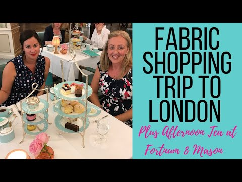 Fabric Buying Trip To London