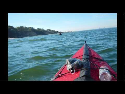 Kayak sortie from Glen Cove, Long Island, New York