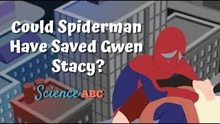 Newton's Second Law Of Motion: Spiderman Learns it .. The Hard Way!
