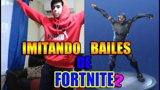 COPYING FORTNITE BAILES IN REAL LIFE 2! ElCriss21