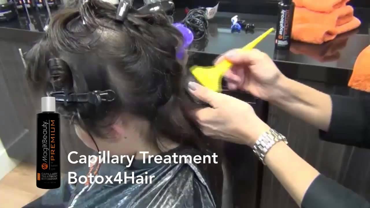 Botox For Hair Treatment Application Tutorial Youtube