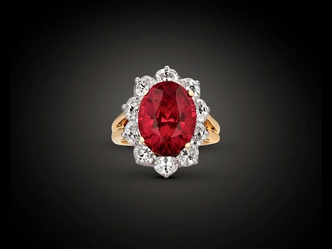 Untreated Ruby Ring by Oscar Heyman 7.51 Carats from M.S. Rau Antiques