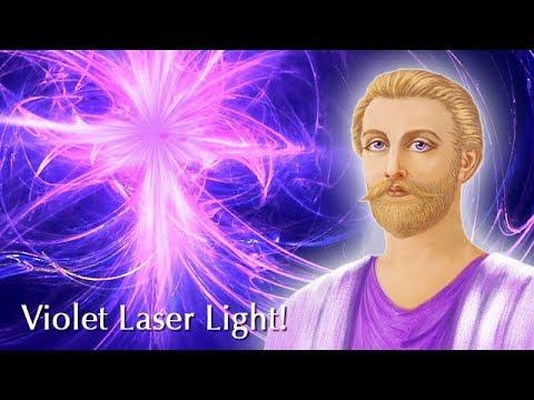 Violet Laser Light!