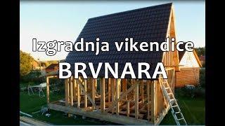 Izgradnja Drvene Vikendice Brvnare