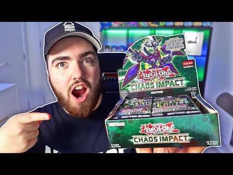 Opening A Yu-Gi-Oh Booster Box For The First Time *CHAOS IMPACT*
