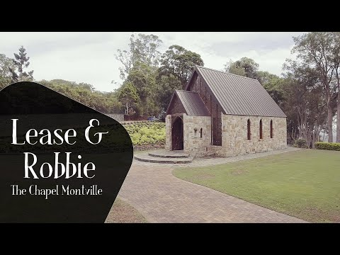 A Sunshine Coast Wedding Film Leasa & Robbie's Highlights At The Chapel In Montville