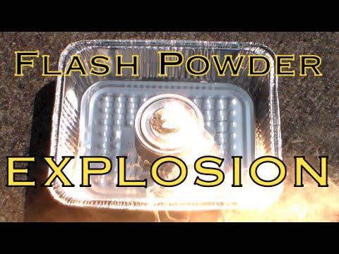 Magnesium/Sulfur Flash Powder