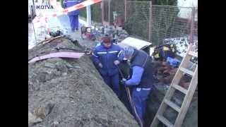 Oprava poruchy kabelu 22 kV na ul.Havlíčkova