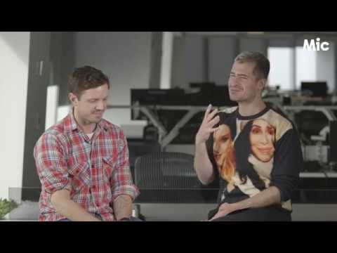 """Jake Shears opens up about his journey from bullied """"faggot"""" to masculinity cover boy"""