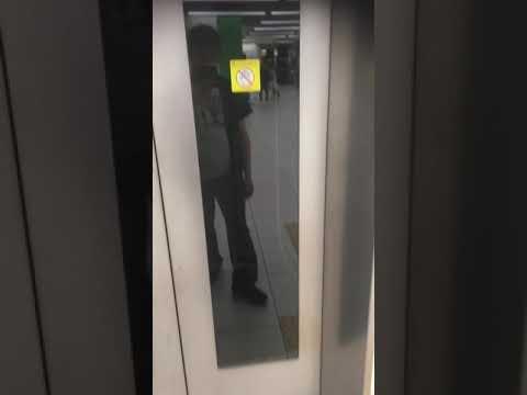 阪神電車    なんば線     ドーム前駅のエレベーター    その2