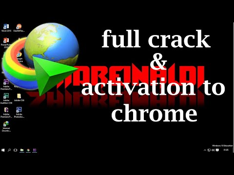 cara download IDM (internet download manager) full crack + activation to chrome