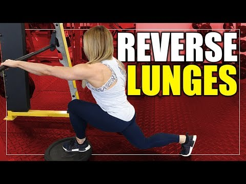 Exercise Index – Reverse Lunges