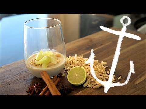How to make Sugar Free Almond Lime Panna Cotta recipe Bondi Harvest