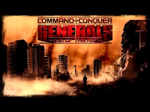 [Ретро Игры] Россия против Китая - Command and Conquer Generals Rise Of The Reds.