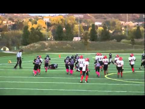 Jake Rubley 9 Yr Old Football Highlight