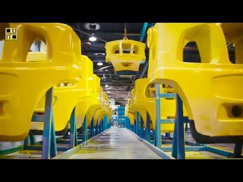 Вилочные погрузчики Hyster. Производство в Крэйгевоне (Великобритания).
