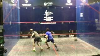 Wadi Degla Squash World Championship 2016 - Round 2 - Ramy Ashour v Stephen Coppinger - 1st Game
