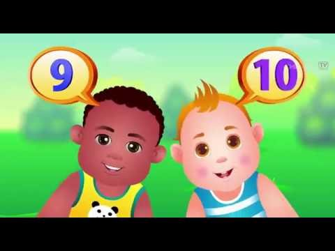 Chuchu TV: The Numbers Song Learn To Count from 1 to 10 Number Rhymes For  Children Remix