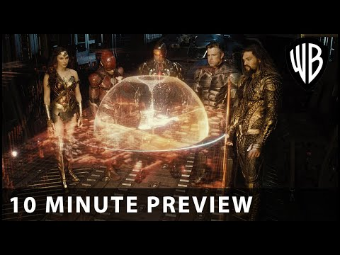 Zack Snyder's Justice League - 10 Minute Preview - Warner Bros. UK