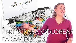 Crayola crea libros para colorear para adultos