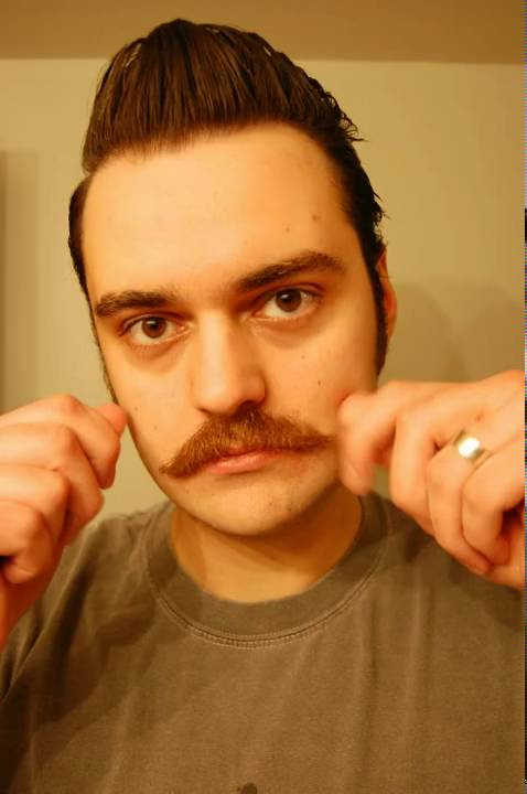 204 Day Handlebar Moustache In 45 Seconds Youtube