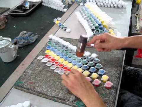 DIY Strip mini-paint- pots Manual Injection
