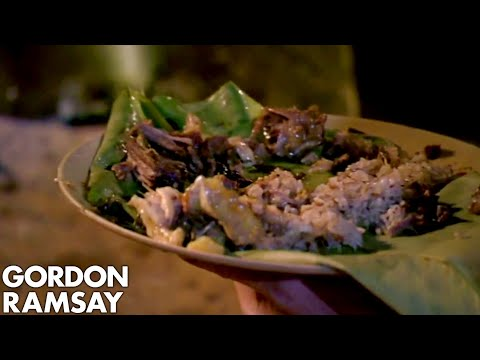 Gordon Ramsay Is Blown Away By Tribe's Curry   Gordon's Great Escape