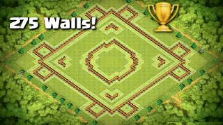 "Clash of Clans - AMAZING Town Hall 10 Trophy/War Base ""Crestfallen"" 
