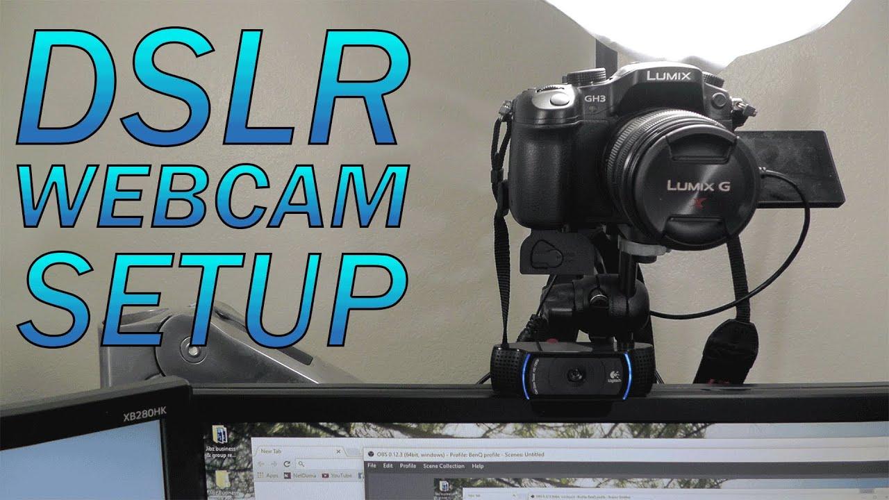 Como Usar Sua Camera DSLR como WebCam - Nikon