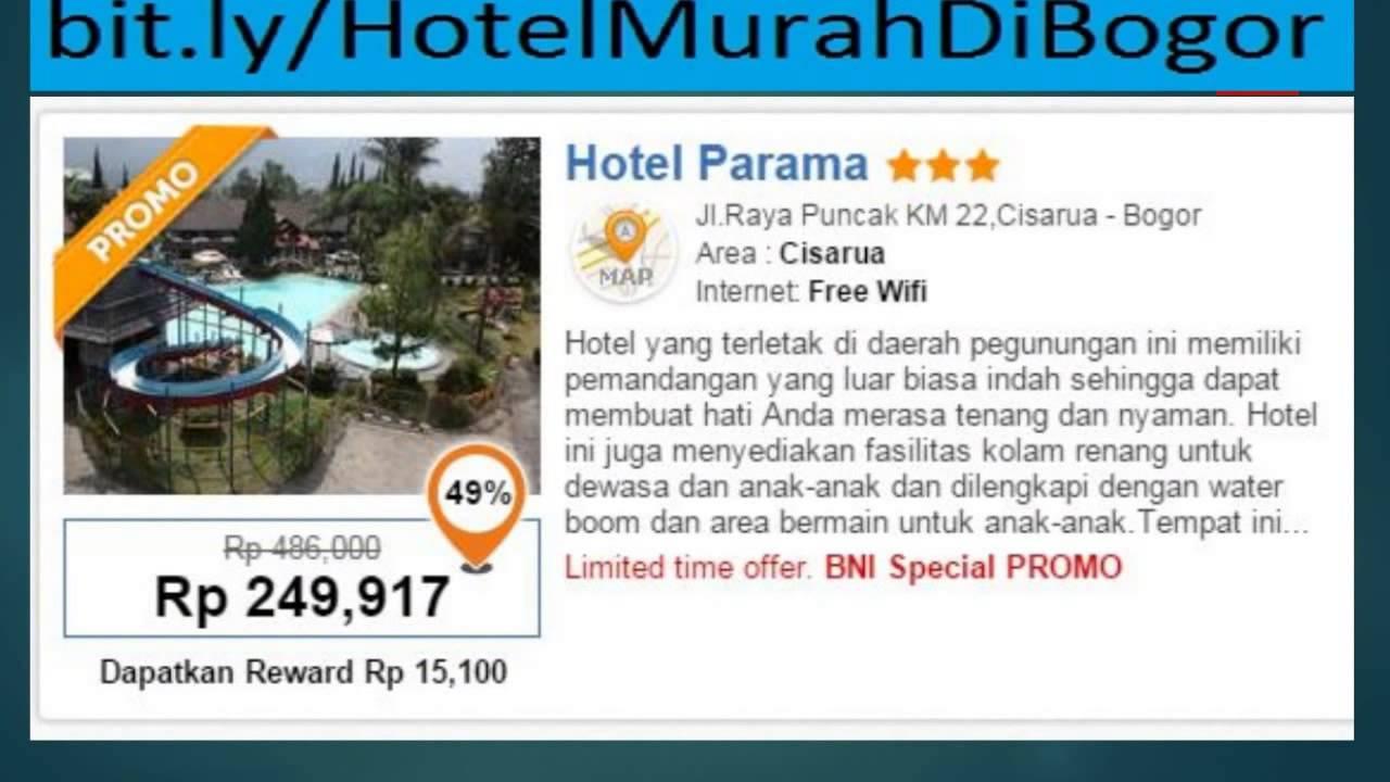 Hotel Murah Di Bogor Dengan Kolam Renang Dekat Stasiun Kereta