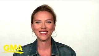 Scarlett Johansson talks about 'Black Widow' l GMA