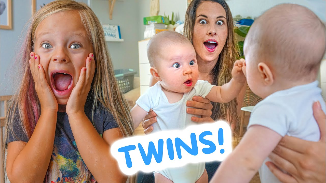 THEO MEETS HIS TWIN FOR THE FIRST TIME! (IDENTICAL TWINS!)