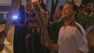 Olympic torch in EastEnders: See Billy run through Square