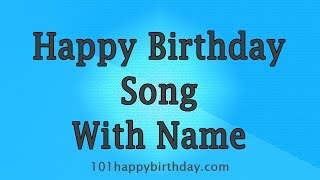 You can get a customized happy birthday song here: https://goo.gl/vmbne5 hi, this is the best to share on your friend's or relative's birthday....