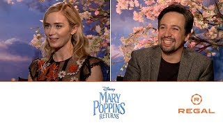 Mary Poppins Returns: Sit Down with the Stars feat. Matthew Hoffman - Regal [HD]