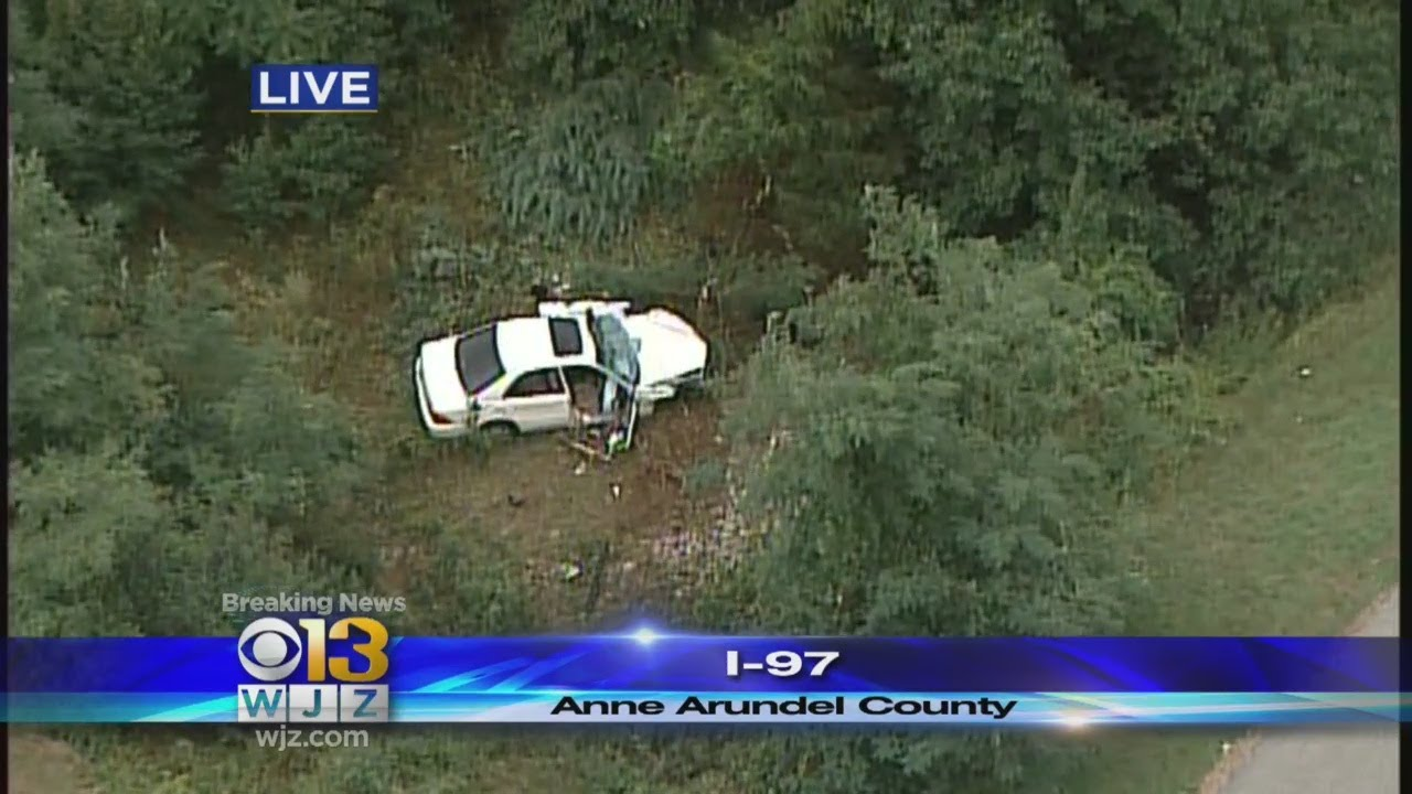 Double Fatal Crash Reported On I-97 In Anne Arundel County