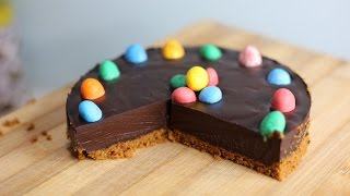 French Chocolate Dessert Recipe - No Bake Chocolate Tart