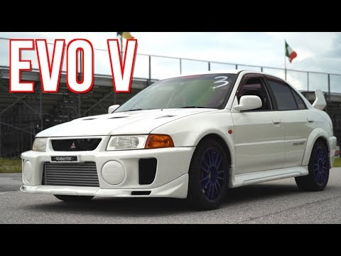 Evo 5 in the USA - 700HP AWD Street Machine!