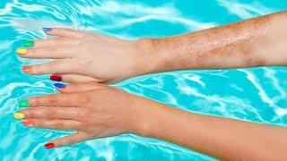 DIY Waterproof Spray Tan!