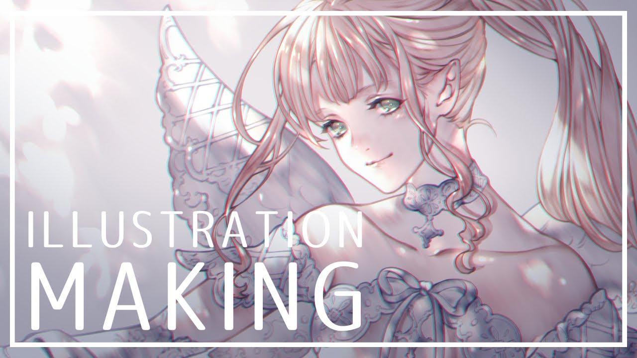 【オリジナル】イラストメイキング - illustration making -