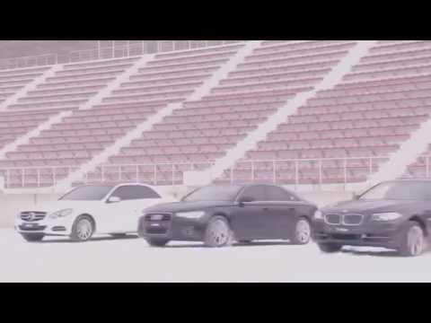 Audi Quattro vs Bmw xDrive vs Mercedes Benz 4matic SNOW TEST