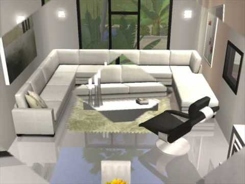 Modern House 2 Sims 2 YouTube