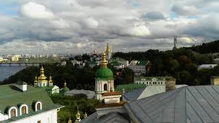 Обалденно красивые места открываются из Киево Пече...