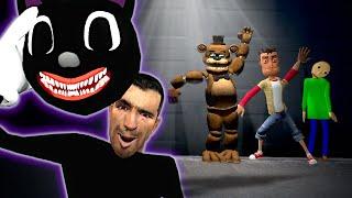 CARTOON CAT ATE ME & I BECAME HIM!  Garry's Mod Gameplay  Gmod Hide and Seek