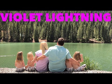 OUR FIRST MUSIC VIDEO TO VIOLET LIGHTNING