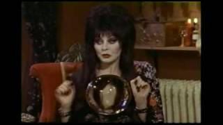 """The Elvira Show"" Unaired Pilot 1/3"