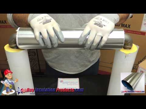 How to Install Aluminum Jacketing and Elbow Covers over Fiberglass Pipe Insulation